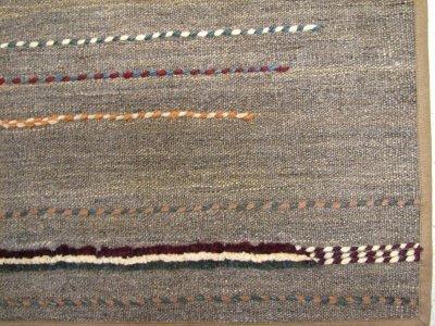 画像1: ペルシャ キリム ジャジーム ギャッベ 平織り パッチワーク ラグ B143 TR 154 x 98