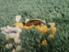 画像8: 新品 ペルシャ ギャッベ リビング サイズ ラグ 180 x 148 cm 20 ハンドメイド ギャベ 天然 ウール 手織り 絨毯 カーペット ナチュラル 緑 グリーン シンプル 動物 柄 (8)