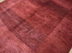 画像9: 良品  ペルシャ ギャッベ 縦1.8m 2.1㎡ センター ラグ ベッドサイド 2人掛けソファ サイズ 180 x 121 cm No.235 天然 草木染 ウール ギャベ 手織り ハンドメイド ラグ 絨毯 カーペット ヴィンテージ ビンテージ b-235-180121s034  (9)