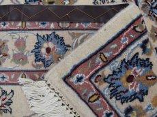 画像12: 新品 ペルシャ 絨毯 マシュハド産 縦1.5m 2人掛けソファ アクセント サイズ  145 x 99 cm No.228 天然 肉厚 ウール 手織り トライバル ラグ 敷物 マット カーペット (12)