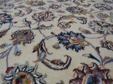 画像13: 新品 ペルシャ 絨毯 マシュハド産 縦1.5m 2人掛けソファ アクセント サイズ  145 x 99 cm No.228 天然 肉厚 ウール 手織り トライバル ラグ 敷物 マット カーペット (13)