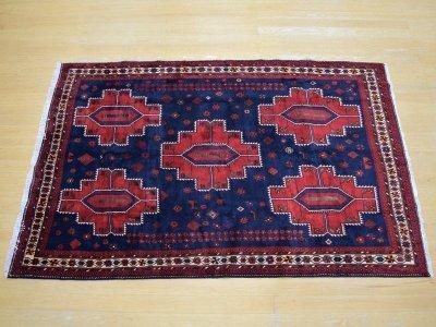 画像2: 良品 ペルシャ 絨毯 シールジャーン 縦2.8m 5.3㎡ 4.5帖 リビング ダイニング 3人掛けソファ サイズ 280 x 187 cm E130 天然 肉厚 ウール 手織り ハンドメイド トライバル ラグ 部族絨毯 マット カーペット 民族柄 ギャッベ(ギャベ)をお探しの方にもお勧めです