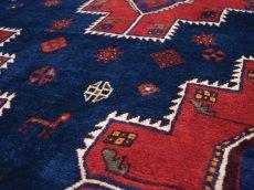 画像10: 良品 ペルシャ 絨毯 シールジャーン 縦2.8m 5.3㎡ 4.5帖 リビング ダイニング 3人掛けソファ サイズ 280 x 187 cm E130 天然 肉厚 ウール 手織り ハンドメイド トライバル ラグ 部族絨毯 マット カーペット 民族柄 ギャッベ(ギャベ)をお探しの方にもお勧めです (10)