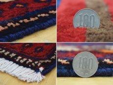 画像20: 良品 ペルシャ 絨毯 シールジャーン 縦2.8m 5.3㎡ 4.5帖 リビング ダイニング 3人掛けソファ サイズ 280 x 187 cm E130 天然 肉厚 ウール 手織り ハンドメイド トライバル ラグ 部族絨毯 マット カーペット 民族柄 ギャッベ(ギャベ)をお探しの方にもお勧めです (20)