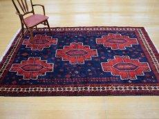 画像3: 良品 ペルシャ 絨毯 シールジャーン 縦2.8m 5.3㎡ 4.5帖 リビング ダイニング 3人掛けソファ サイズ 280 x 187 cm E130 天然 肉厚 ウール 手織り ハンドメイド トライバル ラグ 部族絨毯 マット カーペット 民族柄 ギャッベ(ギャベ)をお探しの方にもお勧めです (3)