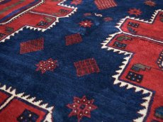 画像11: 良品 ペルシャ 絨毯 シールジャーン 縦2.8m 5.3㎡ 4.5帖 リビング ダイニング 3人掛けソファ サイズ 280 x 187 cm E130 天然 肉厚 ウール 手織り ハンドメイド トライバル ラグ 部族絨毯 マット カーペット 民族柄 ギャッベ(ギャベ)をお探しの方にもお勧めです (11)