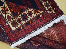 画像15: 良品 ペルシャ 絨毯 シールジャーン 縦2.8m 5.3㎡ 4.5帖 リビング ダイニング 3人掛けソファ サイズ 280 x 187 cm E130 天然 肉厚 ウール 手織り ハンドメイド トライバル ラグ 部族絨毯 マット カーペット 民族柄 ギャッベ(ギャベ)をお探しの方にもお勧めです (15)