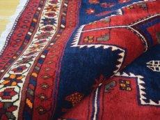 画像13: 良品 ペルシャ 絨毯 シールジャーン 縦2.8m 5.3㎡ 4.5帖 リビング ダイニング 3人掛けソファ サイズ 280 x 187 cm E130 天然 肉厚 ウール 手織り ハンドメイド トライバル ラグ 部族絨毯 マット カーペット 民族柄 ギャッベ(ギャベ)をお探しの方にもお勧めです (13)