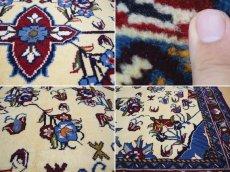 画像17: 新品 ペルシャ 絨毯 シールジャーン 縦1.9m 2.7㎡ 2〜3帖 リビング ダイニング 2人掛けソファ サイズ 190 x 138 cm E116 天然 ウール 手織り ハンドメイド トライバル ラグ 部族絨毯 マット カーペット 遊牧民のモチーフ 動物 鹿 模様 民族柄 ギャッベ(ギャベ)をお探しの方にもお勧めです (17)