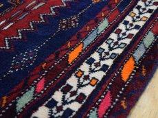 画像11: 良品 ペルシャ 絨毯 シールジャーン 縦2.6m 4.7㎡ 3帖〜 リビング ダイニング 3人掛けソファ サイズ 260 x 180 cm E118 天然 ウール 手織り ハンドメイド トライバル ラグ 部族絨毯 マット カーペット 動物 柄 幾何学模様 民族柄 ギャッベ(ギャベ)をお探しの方にもお勧めです (11)