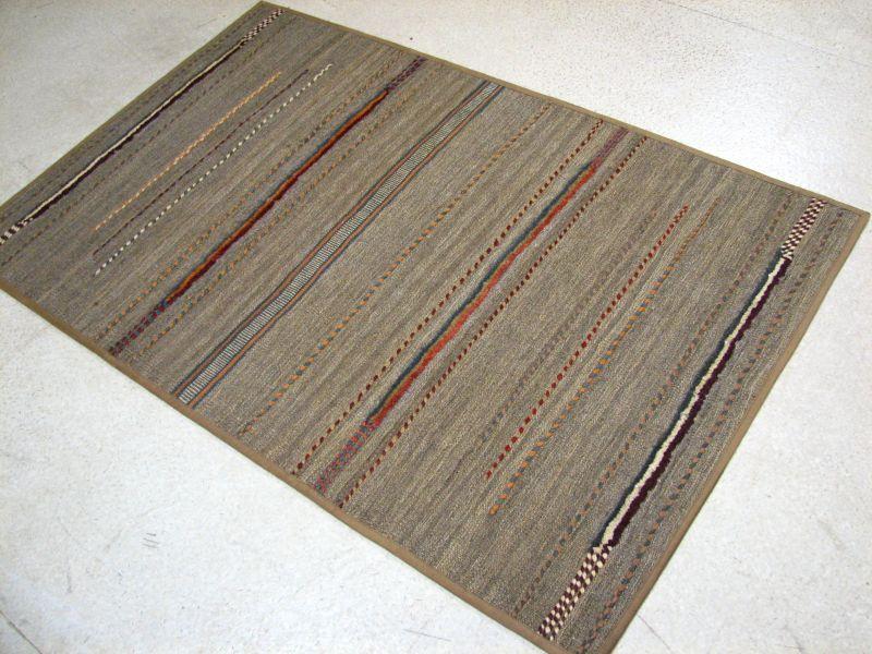 画像1: ペルシャ キリム ジャジーム ギャッベ 平織り パッチワーク ラグ B143 TR 154 x 98 (1)